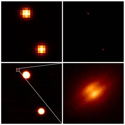 An edge-on protoplanetary disk discovered by Gemini