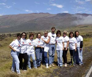StarTeachers and PIO Staff on Mauna Kea